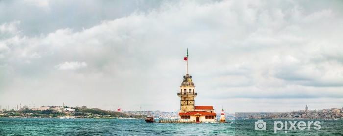 Fototapeta winylowa Dziewicza wyspa w Stambule, Turcja - Azja