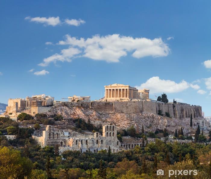 Fototapeta winylowa Partenon, Akropolis, Ateny, Grecja - Tematy