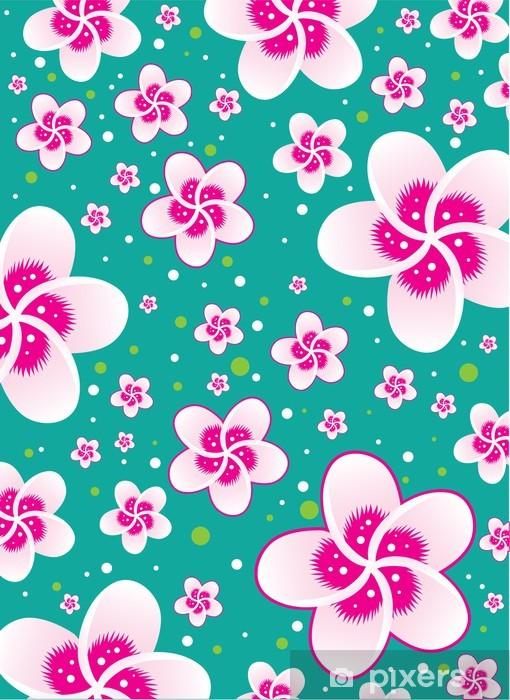 Wall Mural Vinyl Sakura Flower Wallpaper