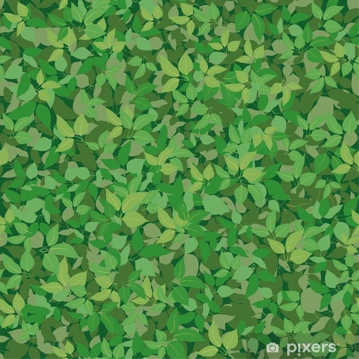 Fototapeta winylowa Bezszwowe tło, liście bzu - Tematy