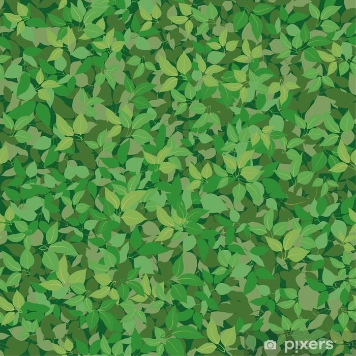 Naklejka Pixerstick Bezszwowe tło, liście bzu - Tematy