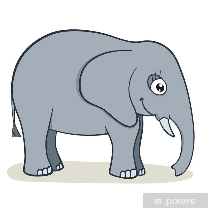 Cartoon elephant wall mural u2022 pixers® u2022 we live to change