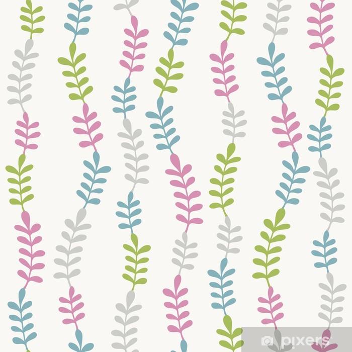 Naklejka Pixerstick Jednolite wzór kolor liści - Pory roku
