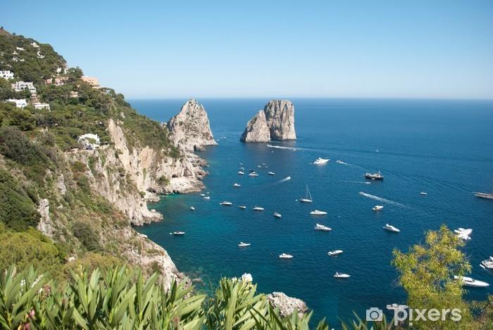 Capri Faraglioni Pixerstick Sticker - Islands