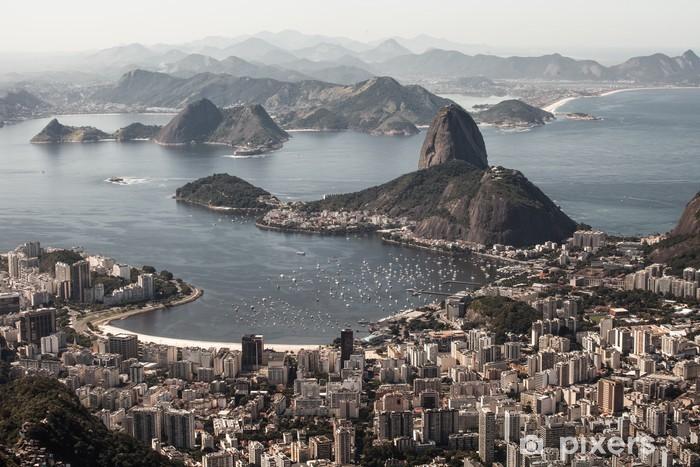 Vinyl Fotobehang Rio de Janeiro, Brazilië - Brazilië