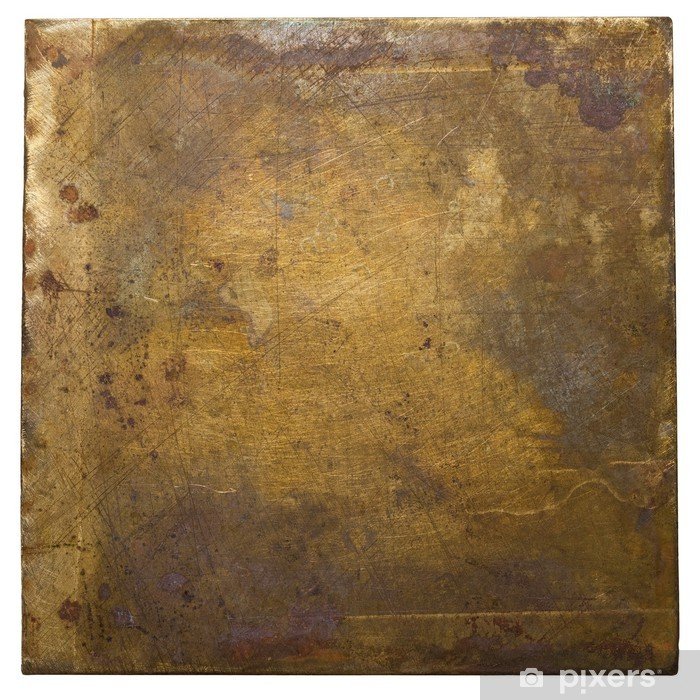 Metal plate Vinyl Wall Mural - Textures