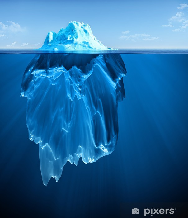iceberg Vinyl Wall Mural - Themes