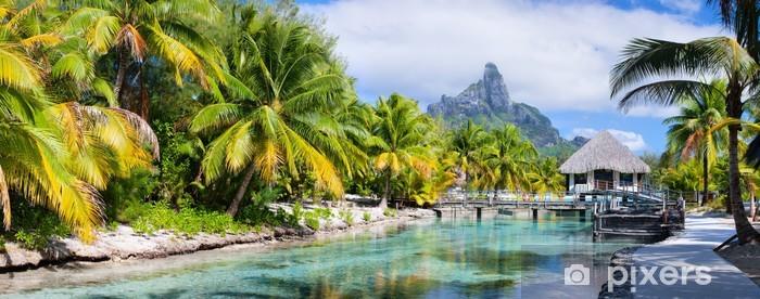 Omyvatelná fototapeta Bora Bora panorama - Témata