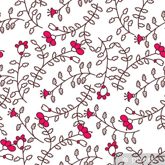 Nálepka Pixerstick Květinové textury - Pozadí