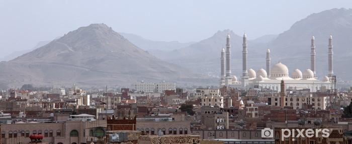 Papier peint vinyle Al Saleh mosquée de Sanaa, au Yémen - Religion
