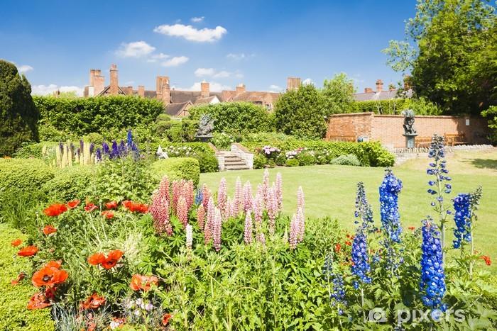 Fototapeta winylowa Nash dom i ogród Place New, Stratford-upon-Avon, Warwickshi - Europa
