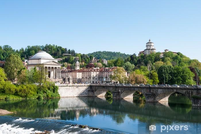 Fototapeta winylowa Gran Madre jeden z najbardziej importat kościoła w Turynie (Włochy) - Europa