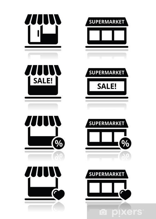 5e48e4b3ecda Fototapeta vinylová Single shop   obchod