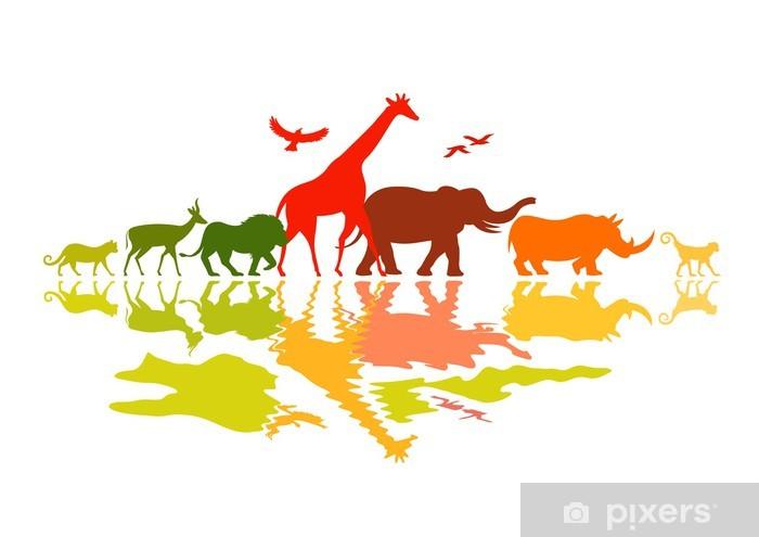 Papier peint vinyle Wildlife Safari - Mammifères
