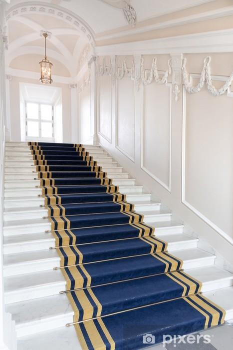 Papier peint Cage d\'escalier dans le palais polonais. Château Royal de  Varsovie.