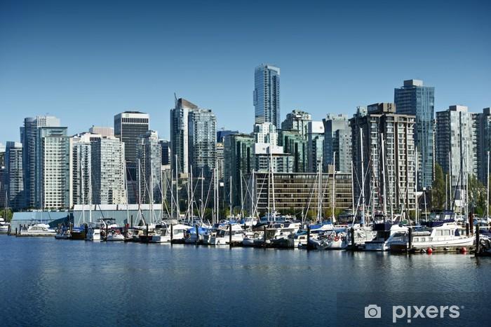 Papier peint vinyle Vancouver Cityscape - Autres