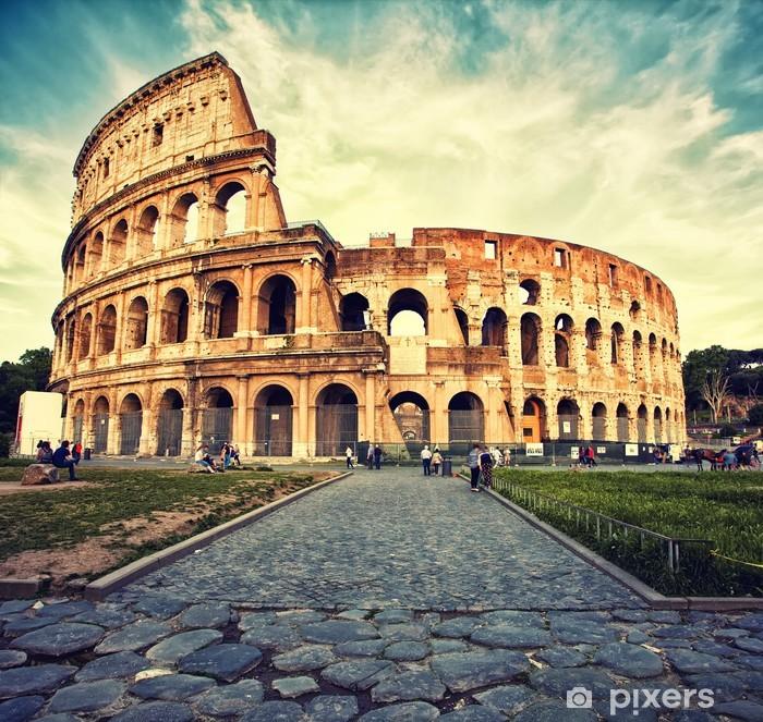 Plakat w ramie Koloseum -