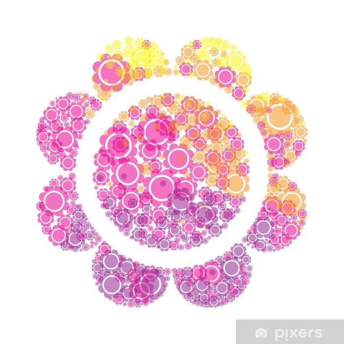 Fototapeta winylowa Kwiaty - Tła