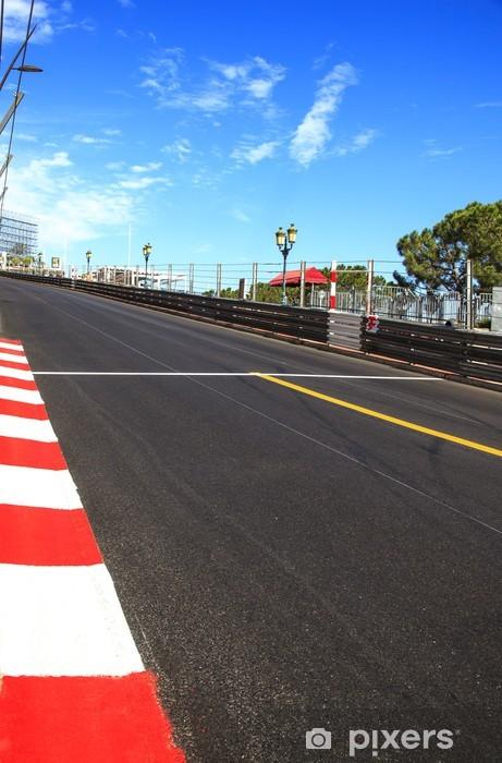 Fotomural Estándar Mónaco, Monte Carlo. Asphalt Race, Gran Premio Circuito - Temas