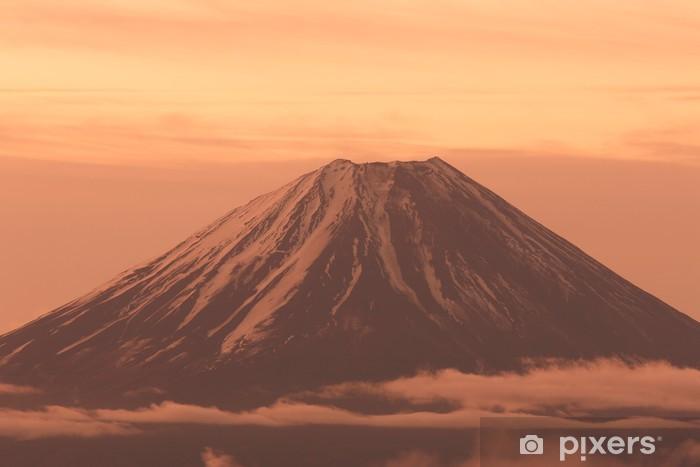 Fototapeta winylowa Mount Fuji z Kushigatayama - Góry