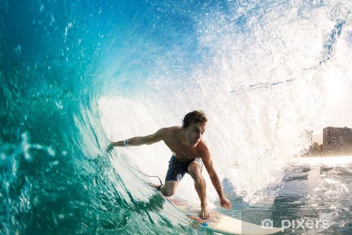 Nálepka Pixerstick Surfař - Témata