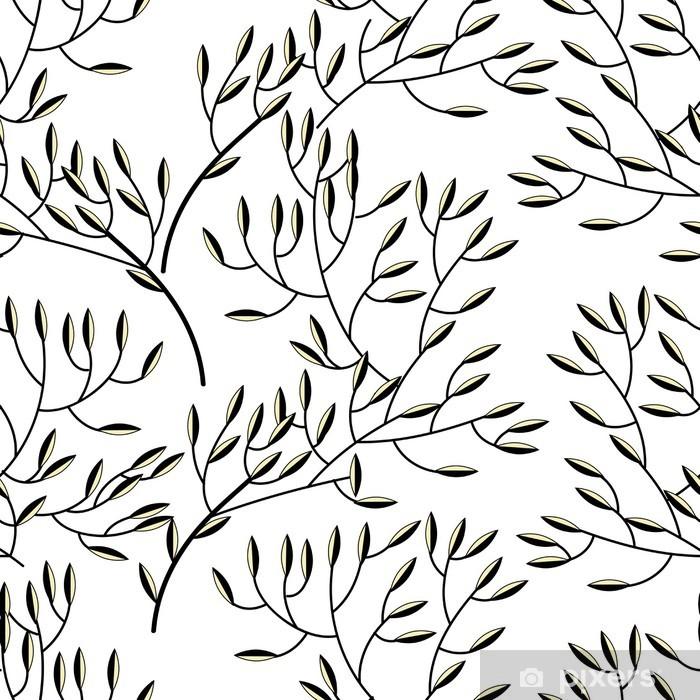 Pixerstick Sticker Bloemen textuur - Achtergrond