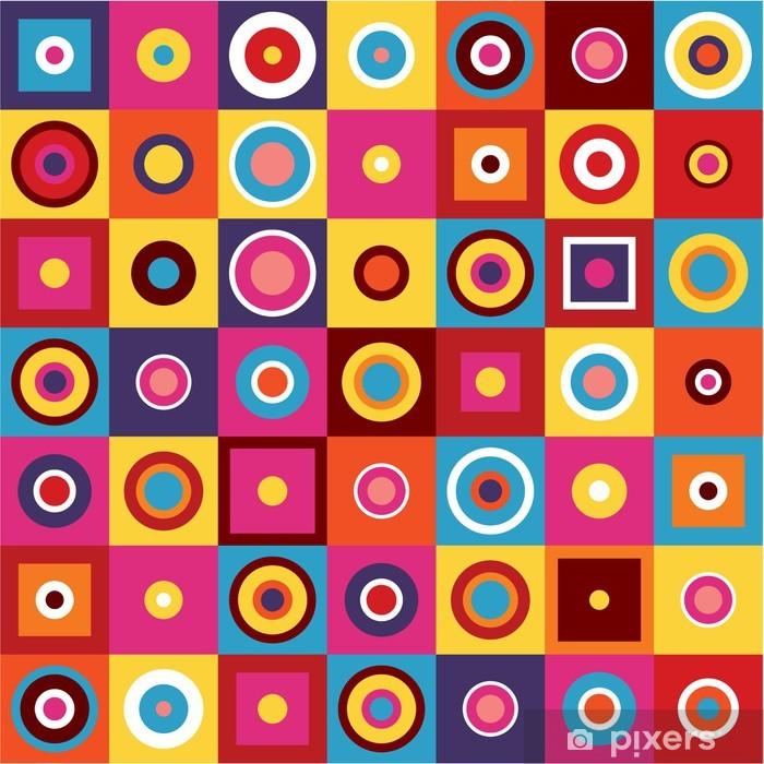 Poster Motif géométrique - Résumé Contexte - Mode