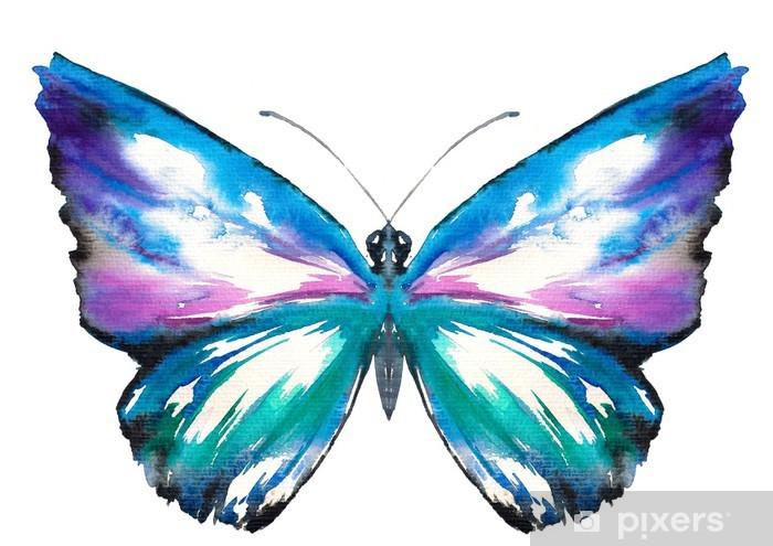 Retro Wallpaper Butterfly