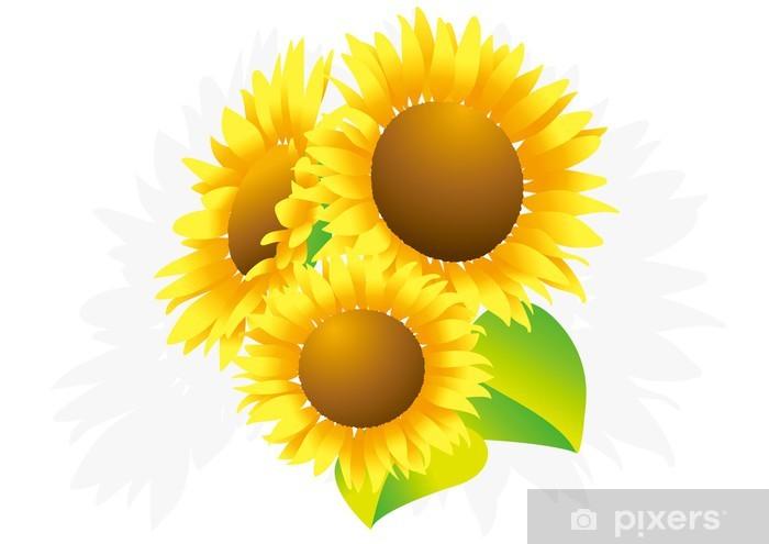 Vinyl-Fototapete Sonnenblume - Blumen