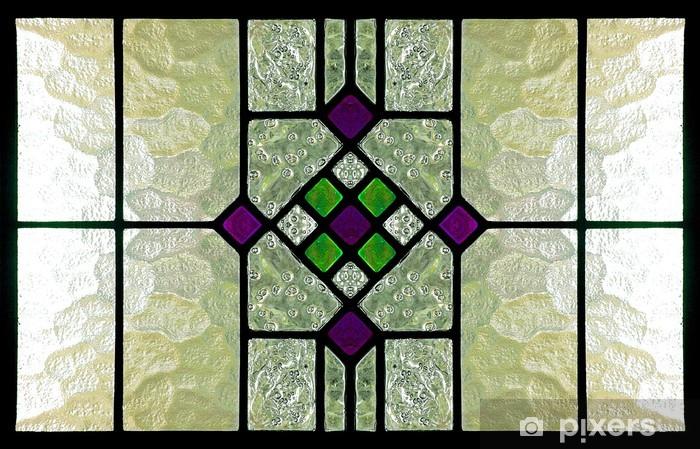 Fototapeta winylowa Witraż - Tekstury