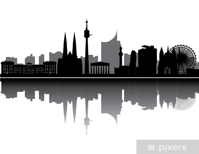 Fototapeta winylowa Vienna skyline - Budynki prywatne