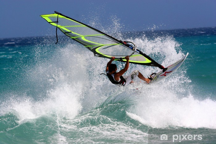 Windsurfen Vinyl Wall Mural - Water Sports