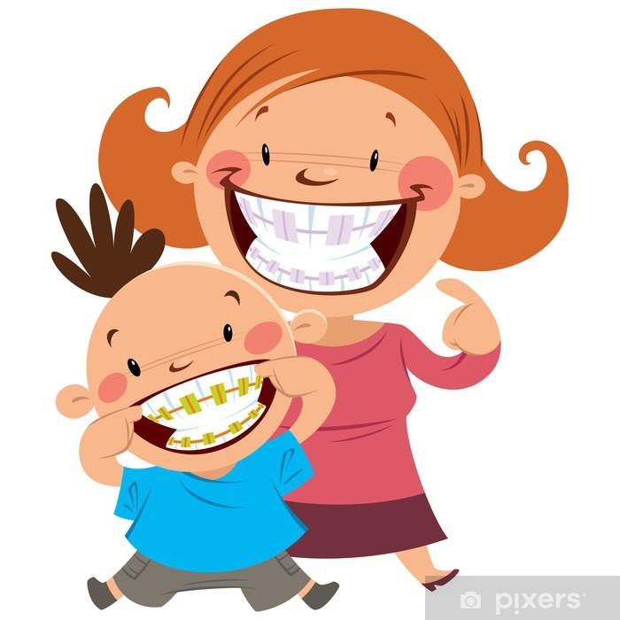 Plakát Šťastná maminka a syn se šlemi - Zdraví a medicína