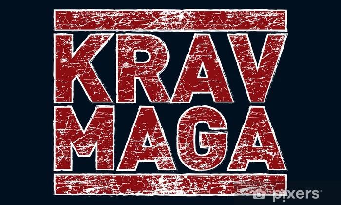 Fototapeta zmywalna Krav maga - Sporty ekstremalne