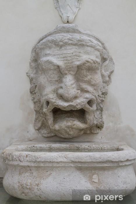 Nálepka Pixerstick Fontana del Mascherone - Památky