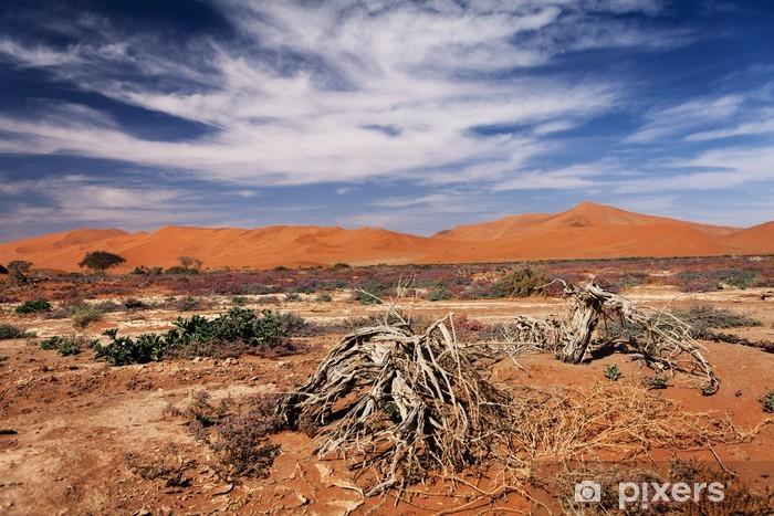Naklejka Pixerstick Poglądy roślinności na pustyni - Pustynia