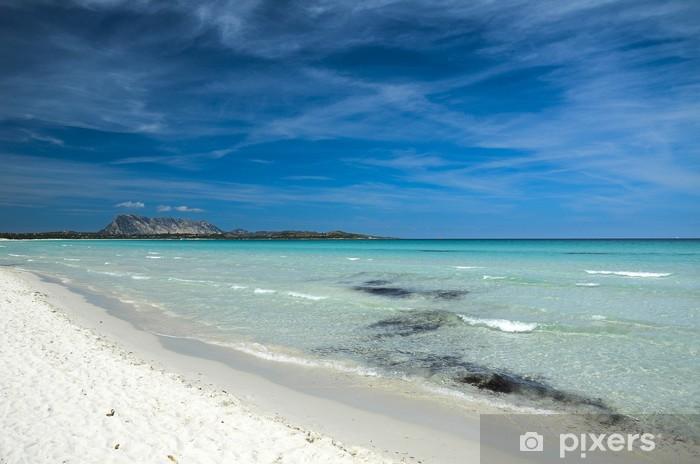 Vinyl-Fototapete Der Strand cianta - Urlaub