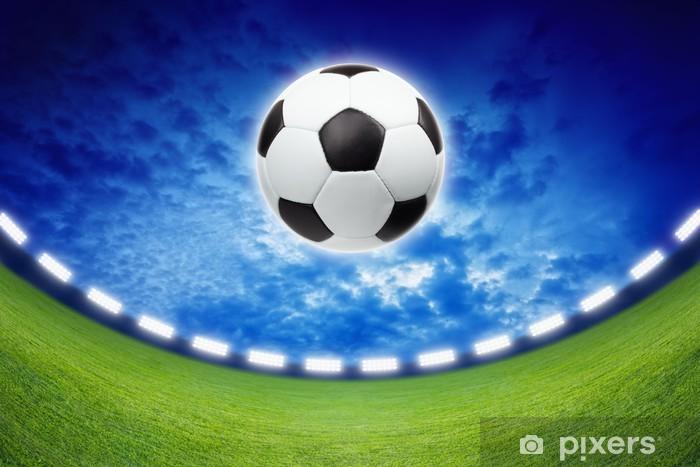 Sticker Pixerstick Soccer background - Sports collectifs