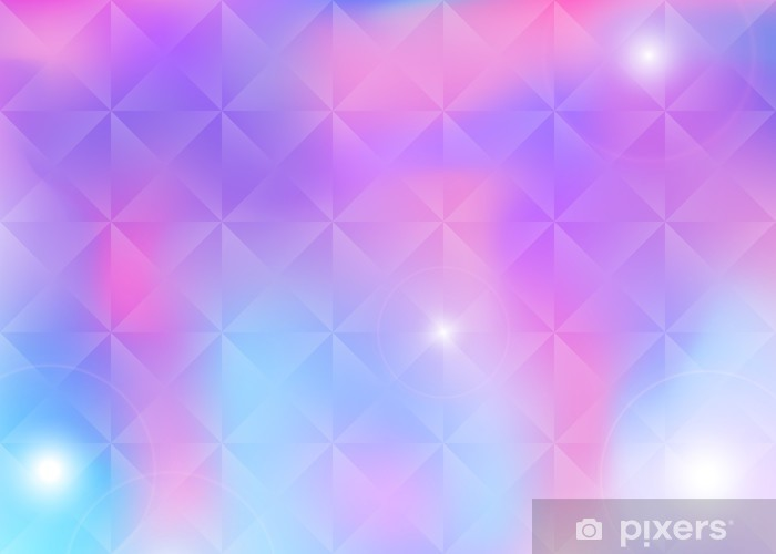 Modern mobile background with halftone lines Pixerstick Sticker - Backgrounds