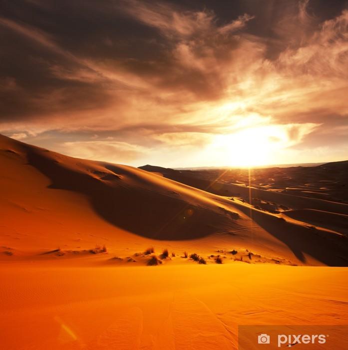 Póster Desierto - Temas