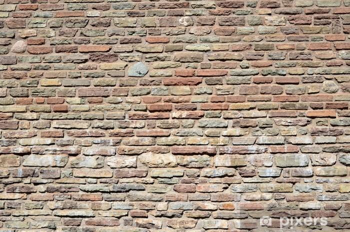 Brick wall background Pixerstick Sticker - Themes