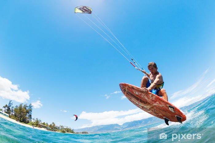 Fototapeta winylowa Kitesurfing - Sporty wodne