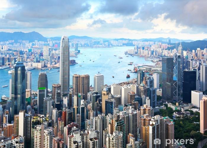 Hong Kong skyline Vinyl Wall Mural - Asia
