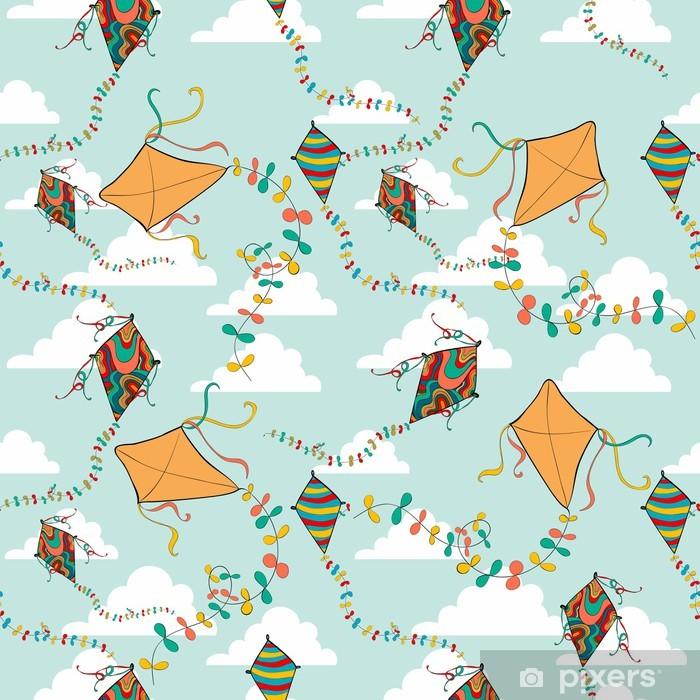 Plakat Kolorowe latawce latające wiosna - Gry
