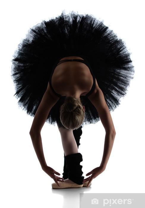 Naklejka Pixerstick Samice tancerz baletu - Tematy
