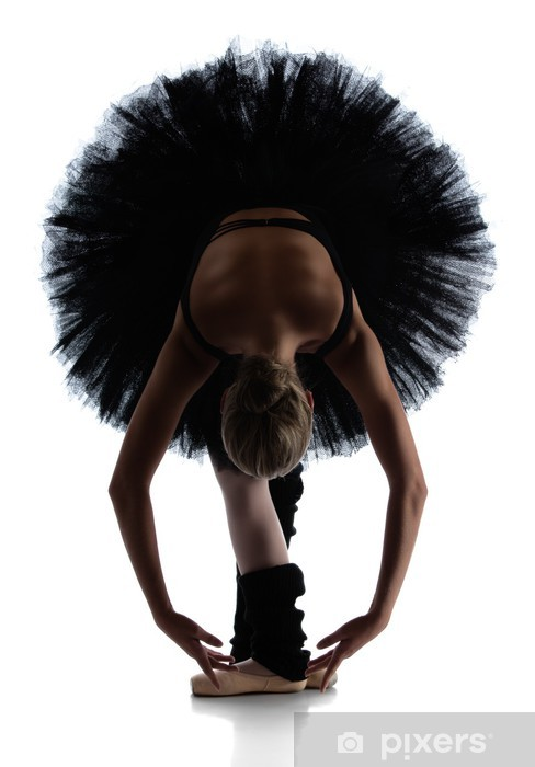 Pixerstick Sticker Vrouwelijke balletdanser - Thema's