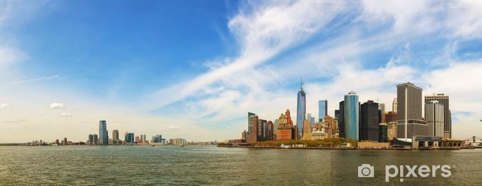 Sticker Pixerstick New York City paysage urbain panorama - Amérique