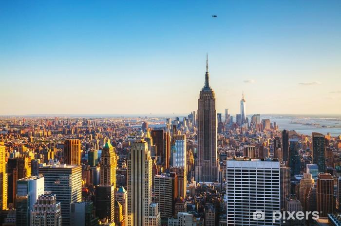 Fototapeta winylowa Nowy Jork pejzaż -