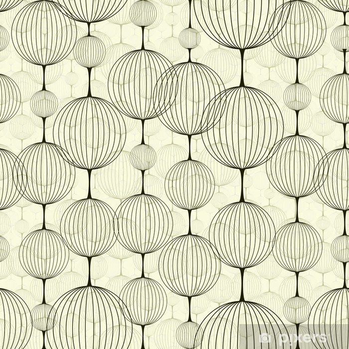 Vinyl-Fototapete Abstract seamless pattern - Fashion