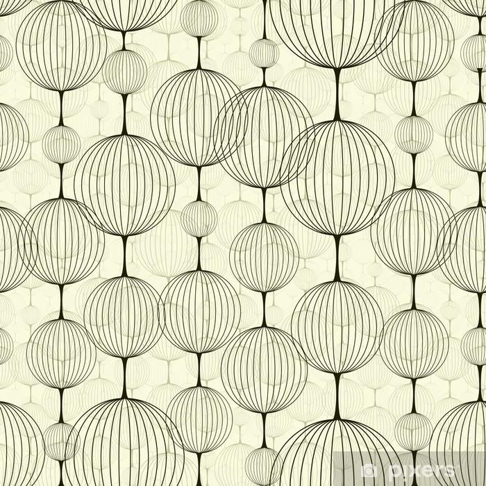 Sticker Pixerstick Abstract seamless pattern - Mode